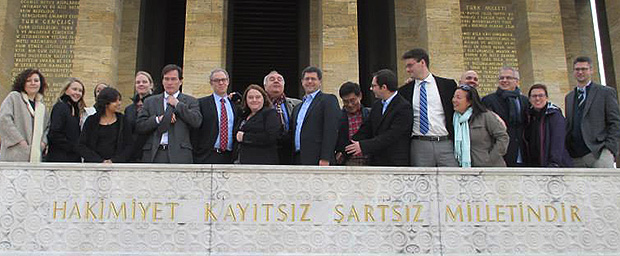 Knight-Wallace fellows Ankara, Turkey mausoleum