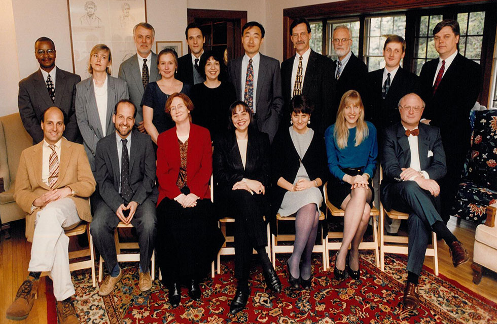 Knight-Wallace Fellows Class of 1994-1995