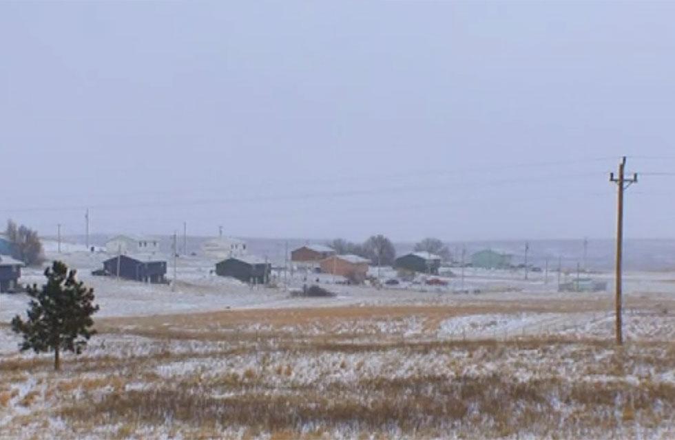 South Dakotas Rosebud Indian reservation