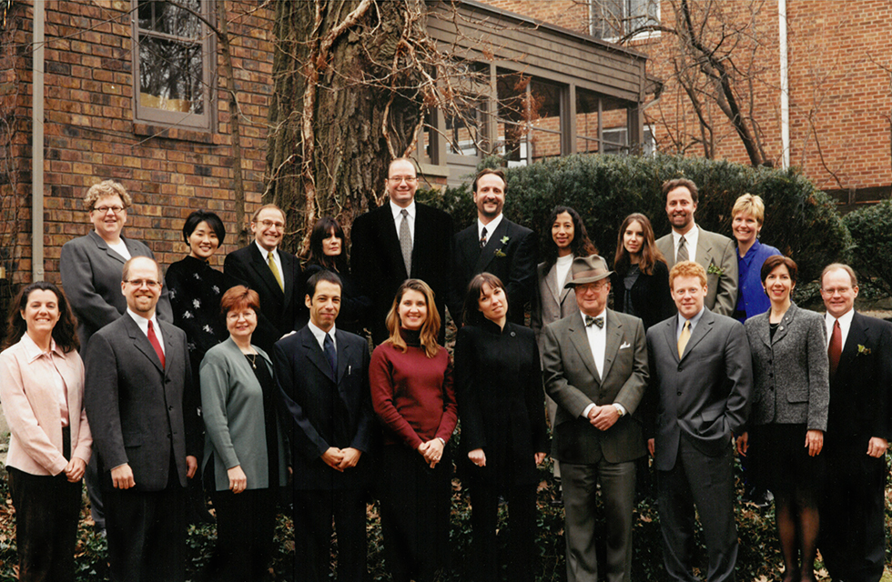 Knight-Wallace Fellows 2000-2001