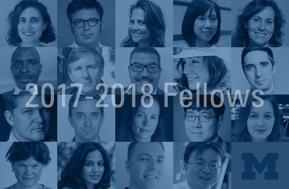 Knight-Wallace Journalism Fellows 2017-2018
