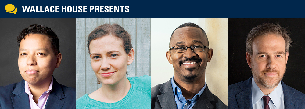 Lydia Polgreen, Brooke Jarvis, Joshua Johnson and Bret Stephens