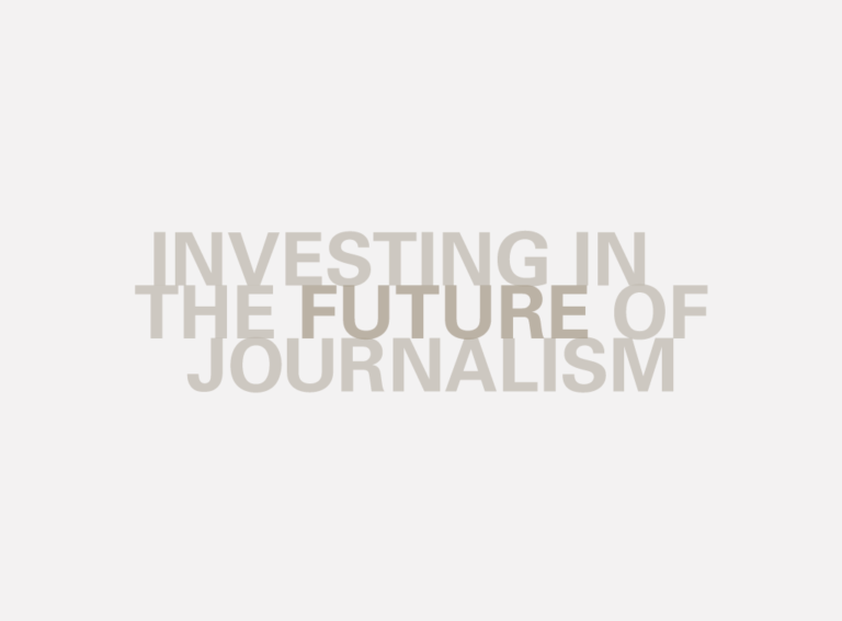 Investigating in the future of journalism